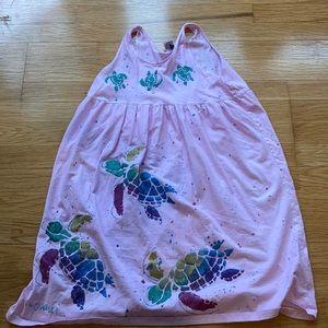 Pink Sea Turtle Dress